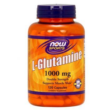 L-Glutamine, 1000mg, 120 capsules