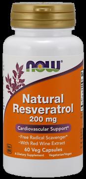 Resveratrol, 200 mg
